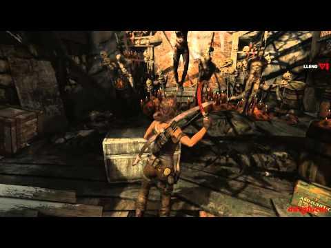 Guia Tomb Raider 2013 Dificil 100% Poblado de Chabolas (8/17)
