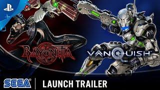Bayonetta and Vanquish - Launch Trailer | PS4