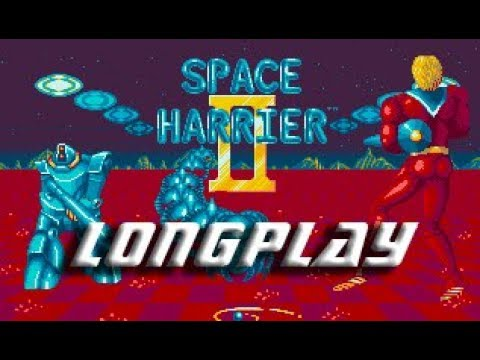 Longplay #144 Space Harrier II (Commodore Amiga)
