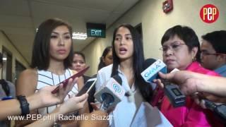 Isabelle Daza speaks up on Liz Uy