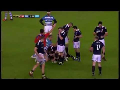 Scotland vs Argentina Highlights HD 20/11/2016
