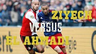 Ziyech versus El Ahmadi: Ajacied op alle Fronten de Baas