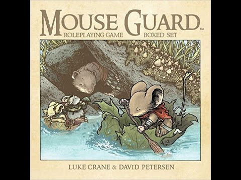 Mouse Guard Role-Playing Game Box Set Review