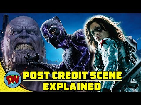 Black Panther Post Credit Scenes | Explained in Hindi