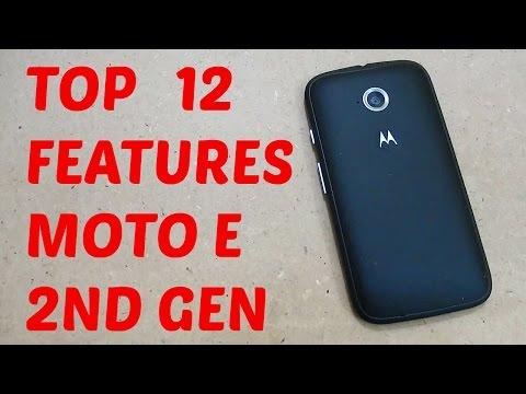 Top 12 features of Motorola Moto E 2nd Gen