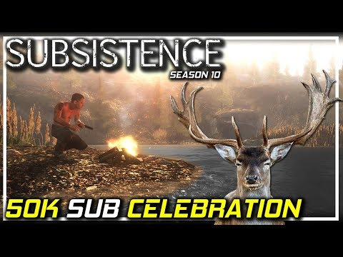 50K Sub Celebration | Subsistence Let's Play | S10 EP22