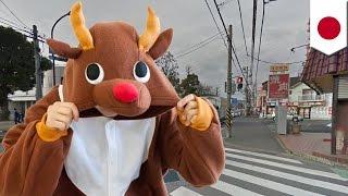 神奈川県相模原市で12月25日未明、トナカイなどのコスプレをした男性ら5...