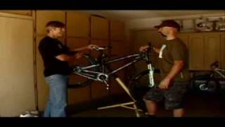 building a pump track bike with mark weir on bicycle world tv