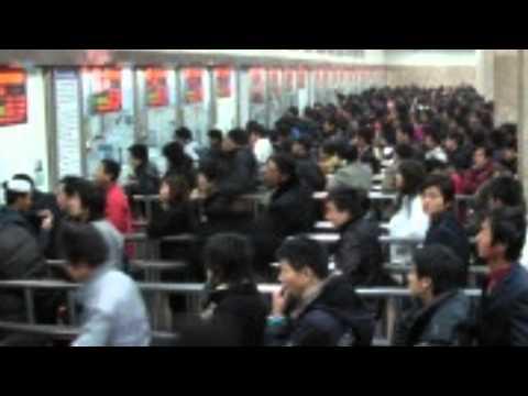 Viaje de Beijing a Xi'an en tren