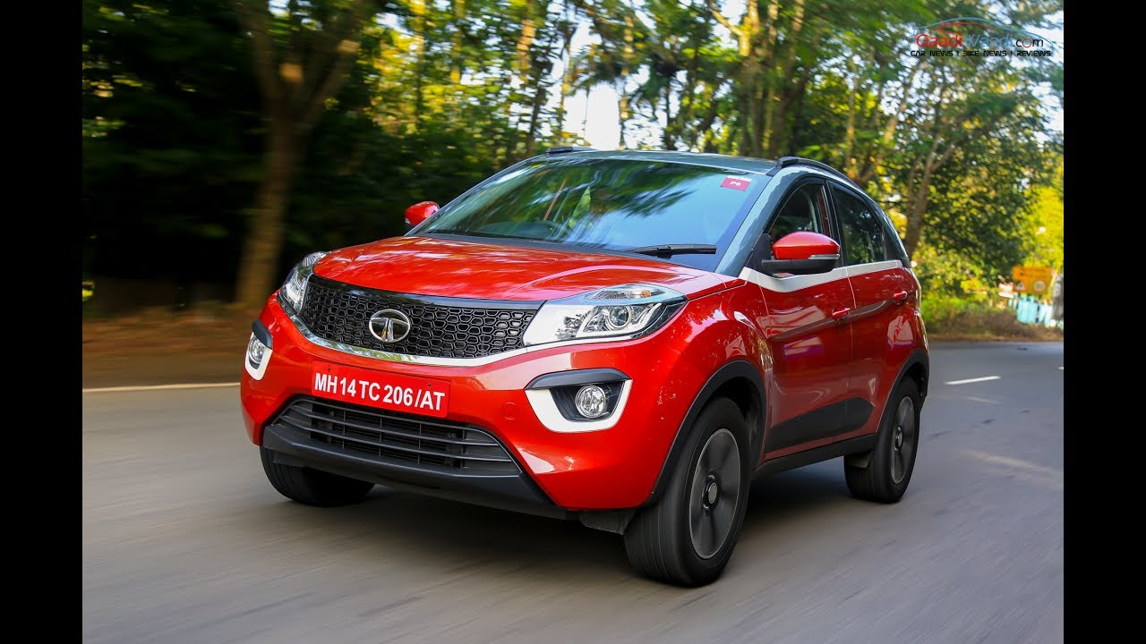 Tata Nexon Compact Suv Walkaround Video Hd Youtube