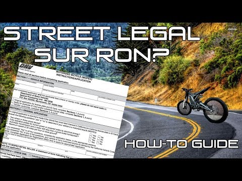 Repeat Sur-Ron in the City by Street Hawk - You2Repeat