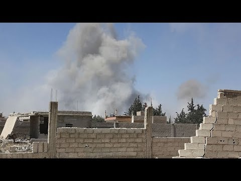 Syrian state TV: Chemical weapons experts enter Douma