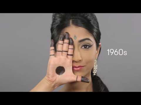 Эволюция красоты в Индии за 100 лет  100 साल के लिए भारत में सौंदर्य का विकास