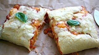 Easy Cheesy Stuffed Pizza Bread Recipe