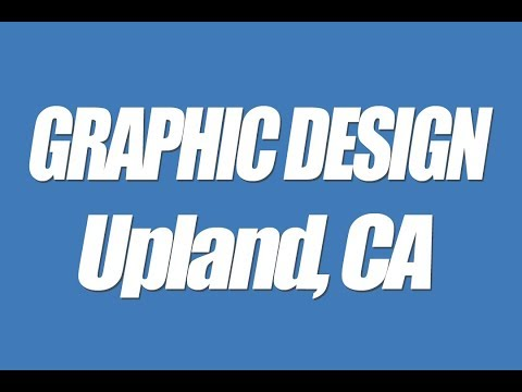 Upland CA Graphic design professional local business web graphics Logos headers banners 91786 91785