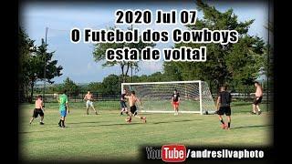 2020 Jul 07 - O Futebol dos Cowboys esta de volta!