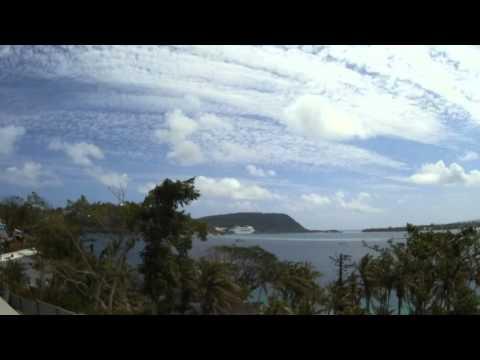 Cloudscape From Port Vila, Vanuatu