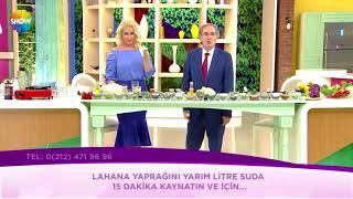 TOPLAR DAMAR (VENÖZ) YETMEZLİĞİNE KARŞI LAHANA KÜRÜ ~ Şifaya vesile Saraçoğlu