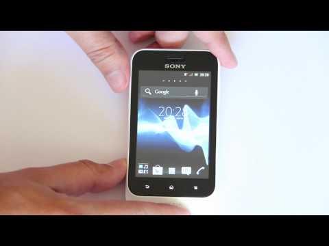 Sony Xperia Tipo: Obsah balení, design, operační systém a aplikace (videopohled)
