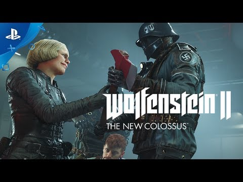 Wolfenstein II: The New Colossus - PS4 Gameplay Interview | E3 2017