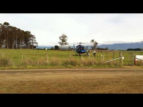 AS355 F-1 landing and takeoff