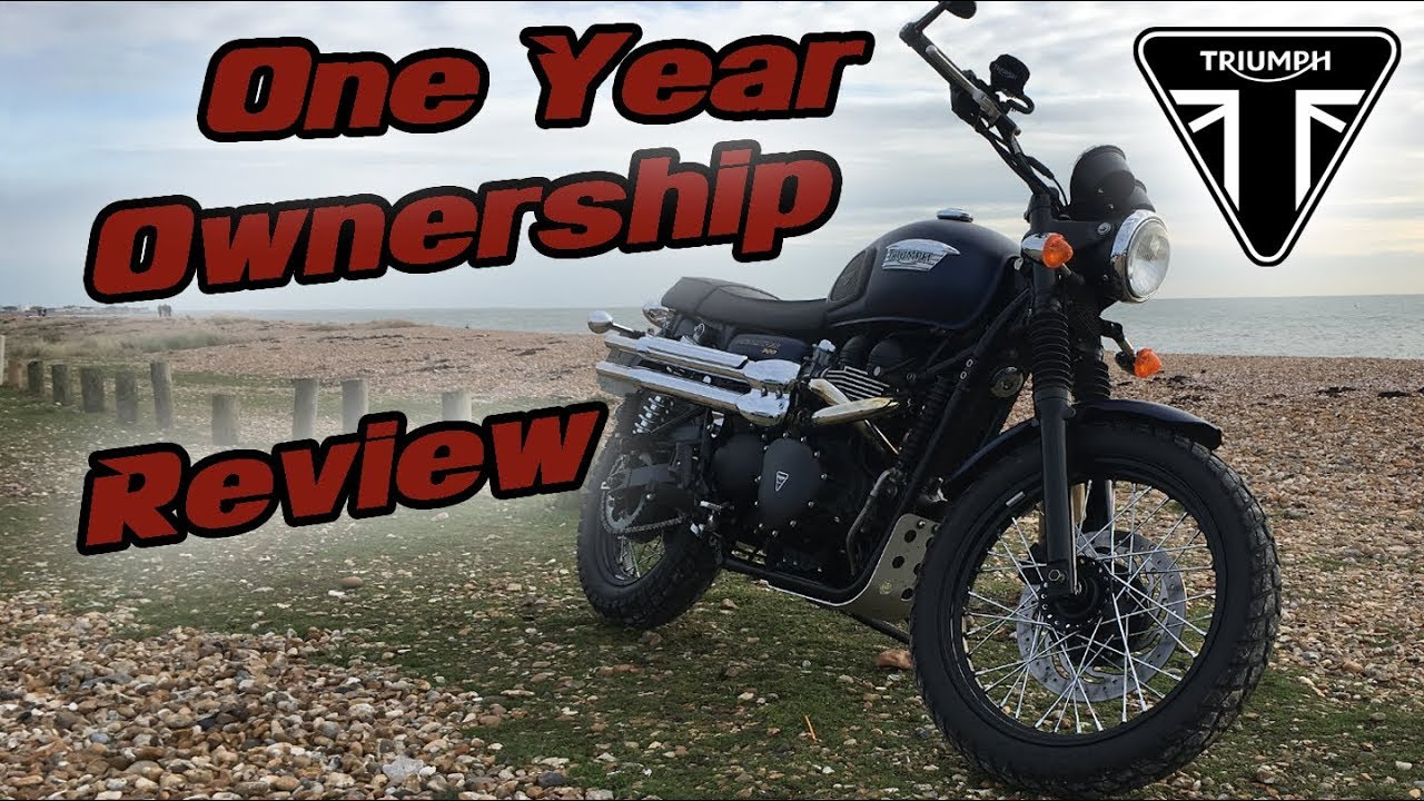 Triumph Scrambler One Year Ownership Review Youtube