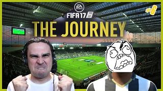ΚΑΜΨΕΙΣ όταν δεν βάζω ΓΚΟΛ! (Fifa 17: The Journey #6)