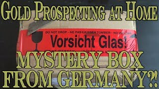Gold Prospecting At Home #22 - Deutschland Mystery Box Paydirt?!