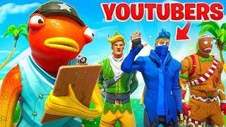 I Recruited FAMOUS YOUTUBERS To The FISH ARMY!