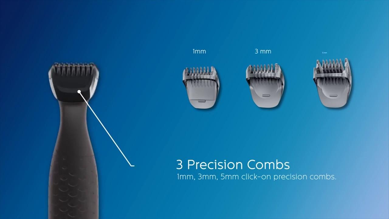 Philips Multigroom series 1000 Ultra precise beard styler - MG1100 ... c18b8ac263