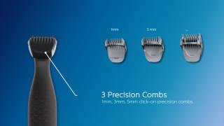Philips Multigroom series 1000 Ultra precise beard styler - MG1100