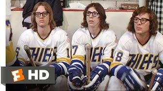The Hansons Play Dirty - Slap Shot (6/10) Movie CLIP (1977) HD