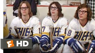 The Hansons Play Dirty - Slap Shot (6/10) Movie CLIP (1977) HD thumbnail