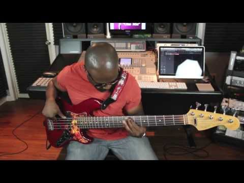 """""""One Mic"""" Show - Sharay Reed   Bass solo & interview"""