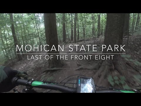 Mohican State Park Mountain Bike Trail: Last of the Front Eight