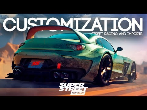 SUPER STREET: THE GAME – CUSTOMIZATION, STREET RACING AND IMPORTS