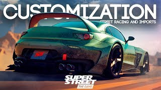 SUPER STREET: THE GAME - CUSTOMIZATION, STREET RACING AND IMPORTS