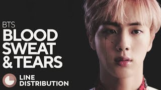 BTS - Blood Sweat & Tears (Line Distribution) - Stafaband