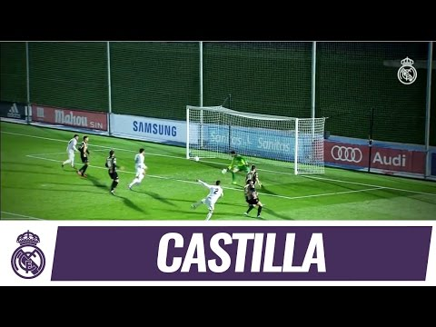 Castilla beat Barakaldo at the Di Stéfano!
