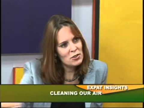 Cleaning Our Air :ExIn 010812 Ms. Sophie Punte with Raju Mandhyan