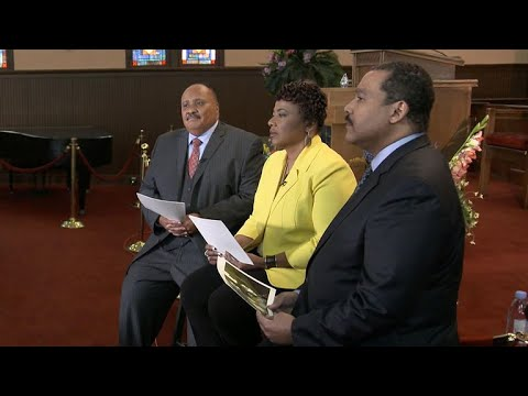 Dr. Martin Luther King Jr.'s children speak about father's legacy