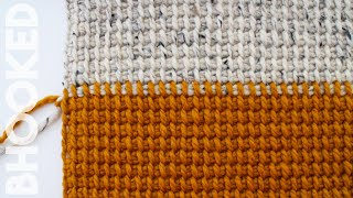 How To Crochet Tunisian Simple Stitch