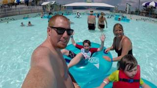 Beach Vacation Vlog Day 5: Water Park (Waterville USA Gulf Shores AL)