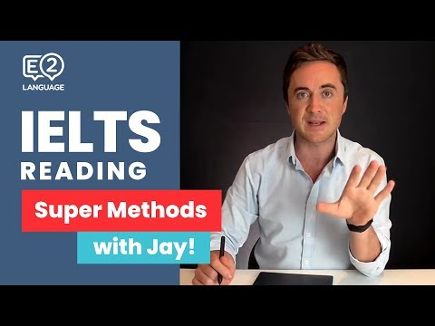 IELTS Reading | SUPER METHODS #1 with Jay!