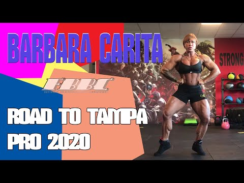 IFBB Pro Female Bodybuilder Barbara Carita – Road To Tampa Pro 2020