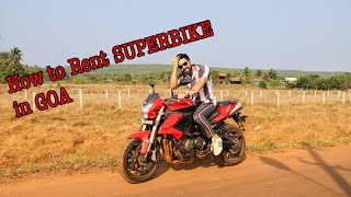 Riding Benelli 600i In GOA | How to rent SUPERBIKE  in GOA