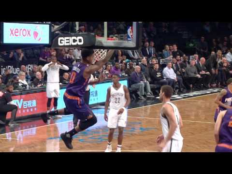 Marquese Chriss with a Thunderous Alley-Oop in Brooklyn | March 23, 2017