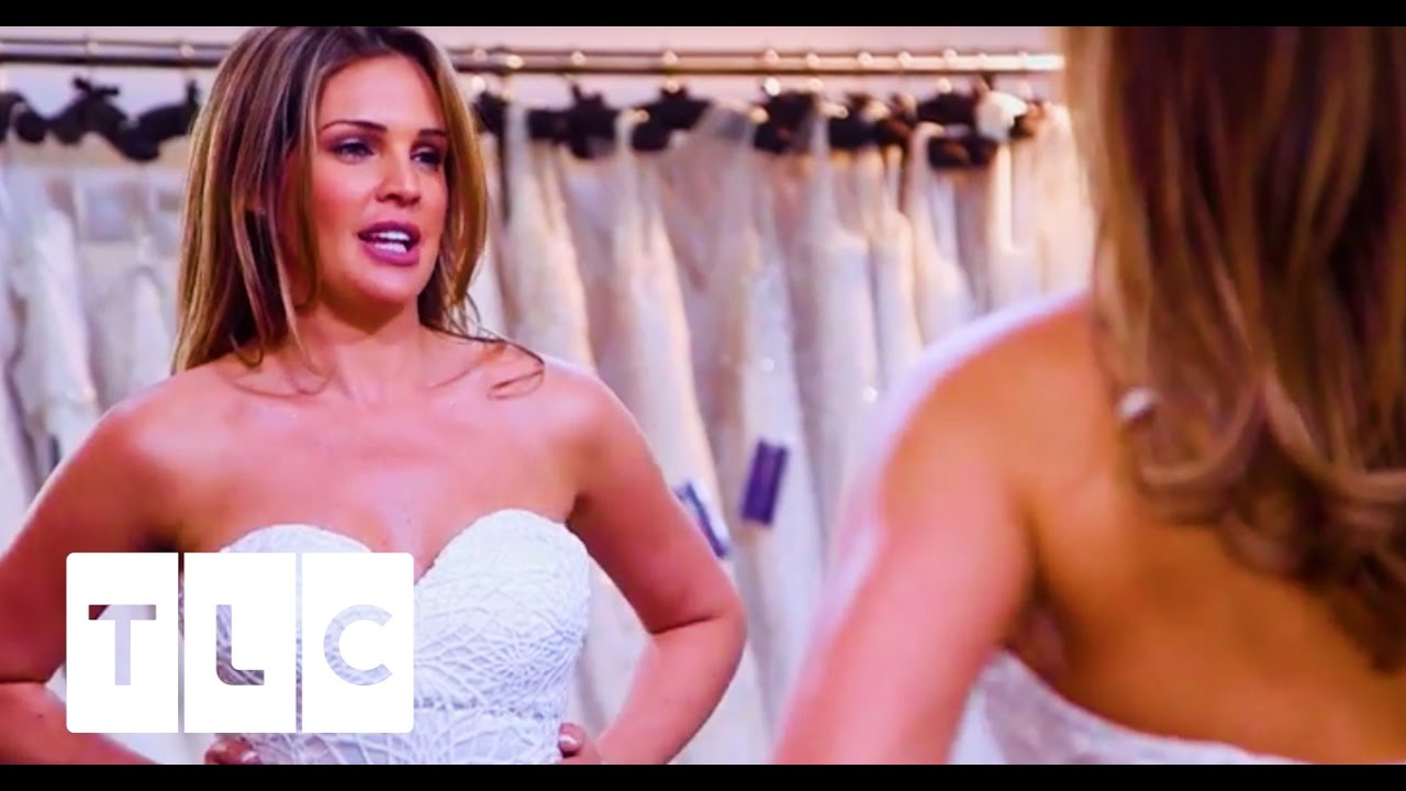 3290aed6f7e87 That Spiderweb Dress | Say Yes To The Dress UK - YouTube