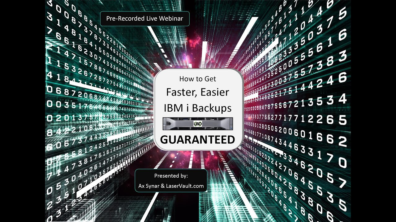 How to Get Faster, Easier IBM i Backups Guaranteed
