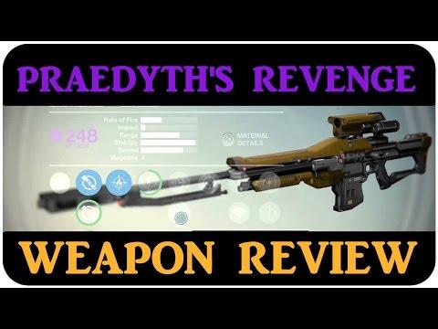 Destiny Praedyth's Revenge BEST LEGENDARY SNIPER in Destiny CRUCIBLE